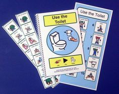 Potty Training Kit for Autism PECS Visual Aid by TheAutismShop: