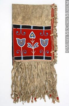 Double saddle bag (Blackfoot), ca. late 19th or early 20th century.