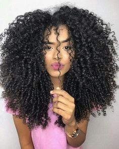 Afro Kinky Curly Wigs For Black Women Mongolian Mi Lisa Remy Hair Glueless Lace Front Human Hair Wigs Pre Plucked With Baby Hair-in Human Hair Lace Wigs from Hair Extensions & Wigs on AliExpress Style Afro, Curly Hair Styles, Natural Hair Styles, Pelo Natural, Natural Curls, Hair Weft, Big Hair, Textured Hair, Human Hair Wigs