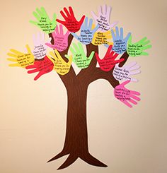 Helping Hands Tree | 10 Quick and Easy Volunteer Gifts | PTOToday.com