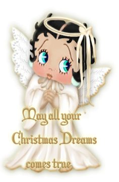 Christmas Toddler Betty Boop angel images