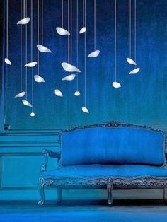 Pantone Spring 2014 colors, Dazzling Blue. ZsaZsa Bellagio – Like No Other: Living Room Blues