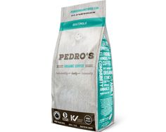 Logo Design & packaging design for Pedro's Organic Coffee Vancouver by Sea Salt Web