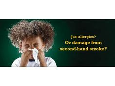 Its a study about the childhood smoke allergies which can help many parents to avoid smoke habit to keep their wards healthy.