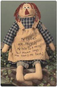 Primitive Dolls and Collectible Primitive Doll Accessories
