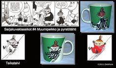 ChiliParkin Taimitarha: Muumimukit 11 - 20 Mugs, Tableware, Dinnerware, Cups, Mug, Dishes