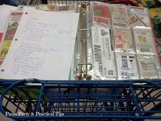How I Organize My Coupons