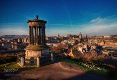 Love Edinburgh - A business trip sometimes reaps rewards :)