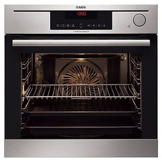 Buy AEG BS7304021M Built-in ProCombi Steam Single Electric Oven, Stainless Steel Online at johnlewis.com