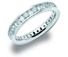 Round and Baguette Cut Diamond Full Set Eternity Ring......