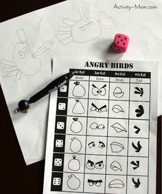 The Activity Mom: Draw Angry Birds