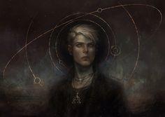 iheartmyart:  Magdalena PagowskaThe digital portraits of...