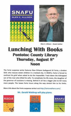 Lunching With Books - Thursday, August 8 @ Noon