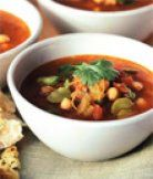 Marocká polévka z cizrny