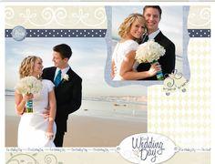 Wedding Scrapbook Page