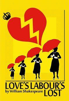 love's labour's lost poster - Google Search