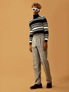 Style: Olesya Iva (Moscow) for Lokk At Me Man Style, My Works, Moscow, Mens Fashion, Pants, Male Style, Moda Masculina, Men Fashion, Trousers