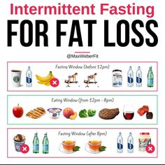 """🔥 Intermittent Fasting for Fat Loss🔥 ⠀⠀ 🤔 Can you imagine a meal timing strategy where you DO NOT eat for hours of the day? ⠀⠀ 😈 It sounds scary, doesn't it? Well, not so fast… ⠀⠀🔥 This """"diet"""" that I'm referring to is called Intermittent Fas Fat Burning Drinks, Fat Burning Foods, Diet Plans To Lose Weight, Ways To Lose Weight, Losing Weight, Weight Gain, Body Weight, Weight Loss Program, Weight Loss Tips"""