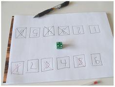 Preschool Math, Kindergarten Teachers, Math Class, Math Games, Deck Of Cards, Pre School, Mathematics, Kids Learning, Diy And Crafts