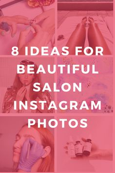 Salon Marketing Idea: 8 ideas for beautiful salon Instagram photos! Want to promote your salon social media? It's all about posting pretty designs and photos! Get salon marketing tips and business building advice in this article! Belle Photo Instagram, Salon Promotions, Beauty Salon Decor, Beauty Salon Names, Beauty Salon Design, Beauty Salons, Salon Business, Business Nails, Pretty Designs