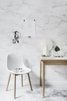 Danish design brand Hay has unveiled its 2016 collection which includes hole-punched furniture by Scholten & Baijings and lounge furniture by Doshi Levien. Lounge chair by Doshi Levien Neu 13 C… Space Interiors, Office Interiors, Marble Interior, Study Room Decor, Interior Styling, Interior Design, Lounge Furniture, Recycled Furniture, Wall Treatments