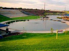 Cosmos Dog Park in Gilbert, AZ!!!!! IT HAS A LAKE!!!!!!!! :D @Stephanie Close Woodard Ferguson