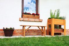 Zielnik Z-01 brąz szklarnia inspekt drewniany, cena: 199zł