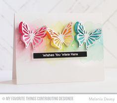 Flutter of Butterflies - Lace Die-namics, Flutter of Butterflies - Solid Die-namics - Melania Deasy #mftstamps