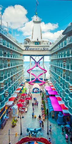 Harmony of the Seas | Treat your loved one to an adventure with the largest ship at sea, and experience unique onboard activities, such as Royal Caribbean's acclaimed 10-story slide, the Ultimate Abyss.