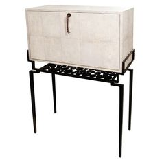 Shagreen Secretaire #cabinet #furniture #Design See more at http://memoir.pt/