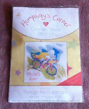 "New Humphreys Corner Cross Stitch Kit Through The Buttercups 8"" x 8"""