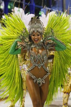 BadfeetYou can find Brazil carnival and more on our website. Carnival Fashion, Carnival Girl, Carnival Outfits, Rio Carnival Dancers, Carnival Makeup Caribbean, Carribean Carnival Costumes, Brazil Carnival Costume, Trinidad Carnival, Carnival Hairstyles