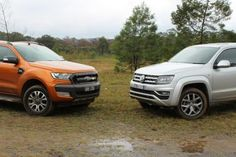 Volkswagen's high-priced ute takes on the benchmark dual-cab work and play toy.
