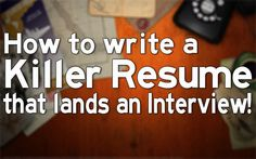 Pin now and read later! How to write a Killer Resume that lands an Interview! - Professional resume writing is easier said than done. Many resume preparation services claimed that their professional resume wins more interviews. When professional resume writers craft a resume, they know they have only 15 seconds to catch the hiring managers attention. As a newbie in resume writing, can you create a professional resume that will land you the interview when-i-grow-up-i-wanna-be-a-nurse