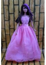 Lavender Party Dress For Barbie Doll Dress With Embroidery - US$8.82  http://www. This is the new 2013 skipper doll, this isn't her dress, she didn't really wear dresses