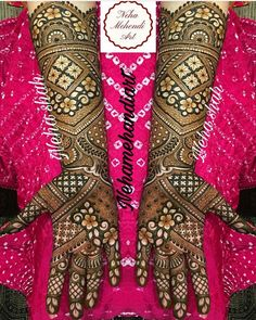 Wish you had a pool of never seen before to flaunt? Look no more and start bookmarking these images for some quick inspiration and for serving some GOALS! Wedding Henna Designs, Engagement Mehndi Designs, Latest Bridal Mehndi Designs, Full Hand Mehndi Designs, Mehndi Designs For Girls, Mehndi Designs 2018, Modern Mehndi Designs, Dulhan Mehndi Designs, Mehndi Design Pictures