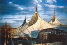 Frei Otto und Rolf Gutbrod_Deutscher Expo-Pavillon_Montreal 1967_01_Foto Atelier Frei Otto Warmbronn