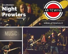 #nightprowlers #tributeband #acdc #livemusic #rock #palermo #montelepre #fotoreport su www.artewiva.it