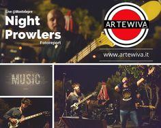 #nightprowlers #tributeband #acdc #livemusic #rock #palermo #montelepre #fotoreport su www.artewiva.it