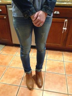 Stitch Fix Just Black Aaron Distressed jeans  Perfect wash and the perfect amount of distressing
