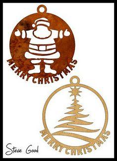 Scrollsaw Workshop: 10 Christmas Ornaments Scroll Saw Patterns.