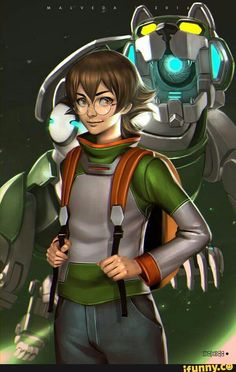 Pidge and Green Lion from Voltron Legendary Defender Voltron Cosplay, Voltron Fanart, Form Voltron, Voltron Klance, Voltron Comics, Voltron Memes, Voltron Ships, Thundercats, Power Rangers