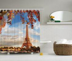 Autumn-Harvest-Fall-In-Paris-Graphic-Shower-Curtain-France-Eiffel-Tower-Decor