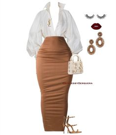 Sexy Outfits, Cute Swag Outfits, Classy Outfits, Stylish Outfits, Girl Outfits, Fashion Outfits, Black Women Fashion, Look Fashion, Womens Fashion