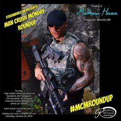 Here are the week 38 finalists of the MCM Roundup competition! Voting ends Sat., Jan. 23, 2016! To vote for Matthew Hosea:  - Every like, share, repost and pin from the official @rtroundup accounts - Facebook, Instagram, Twitter and Pinterest - count as a vote!  - You must use the hashtag #mcmroundup in shares, retweets & reposts for your vote to count!   Be sure to follow @rtroundup on all our social media accounts to vote and for news!  #mcm #mcmroundup #rtroundup #covermodel
