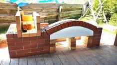 Zahradní krby s udírnou svépomocí - Vzdej to! Garden Bridge, Outdoor Structures