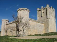 El Castillo de Torrelobaton en Valladolid