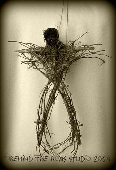 Blair Witch Scarecrow Stickman