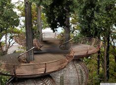 roost treehouses, from master treehouse designer Antony Gibbons.