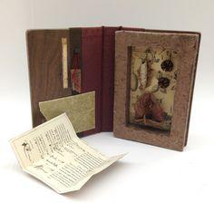 Specimen Series: Metamorphosis wild silkworm chrysalis, handmade paper, historical scientific illustrations, seed pods Rhiannon Alpers